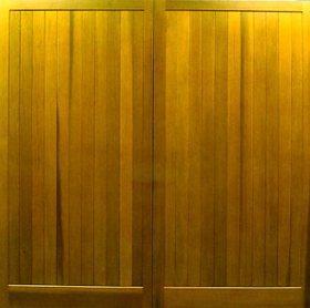 Cedar Door Bakewell Side-Hinged garage doors