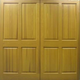 Cedar Door Belper Side-Hinged garage doors