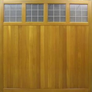 Cedar Door Ashbourne side hinged Traditional Boarded