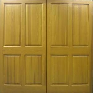 Cedar Door Belper side hinged Traditional Solid Panelled