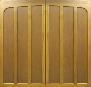 Cedar Door Chatsworth Side-Hinged garage doors