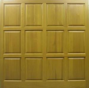 Cedar Door Chesterfield Side-Hinged garage doors