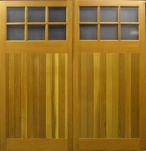 Cedar Door Edale Side-Hinged garage doors