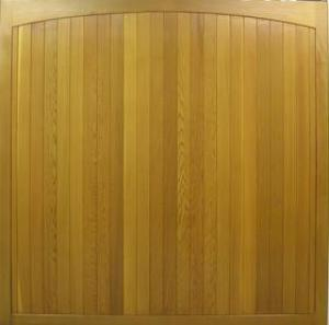 Cedar Door Haddon Side-Hinged garage doors