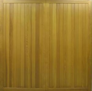Cedar Door Hathersage Side-Hinged garage doors