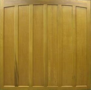 Cedar Door Wingfield Side-Hinged garage doors