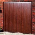 Wood Effect Steel Doors