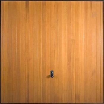 Hormann 2009 Vertical timber up and over garage door