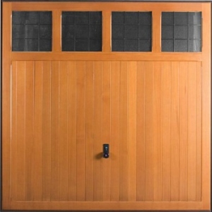 Hormann 2019 Garage Light timber up and over garage door