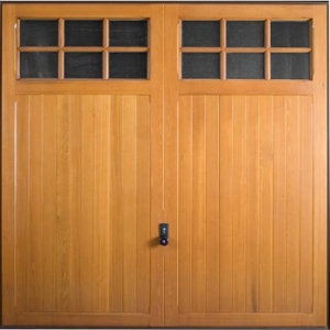 Hormann 2119 Leicester timber up and over garage door