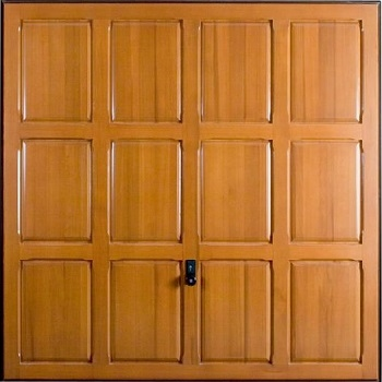Hormann 2121 Chesterfield timber up and over garage door