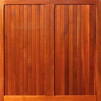 Woodrite Chalfont cedarwood up and over garage door