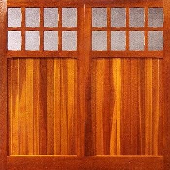 Woodrite Bierton cedarwood up and over garage door