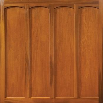 Woodrite Chard cedarwood up and over garage door