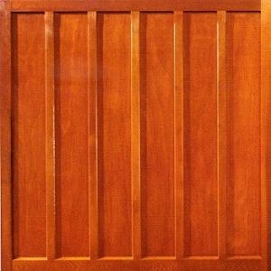 Woodrite Churchill cedarwood up and over garage door