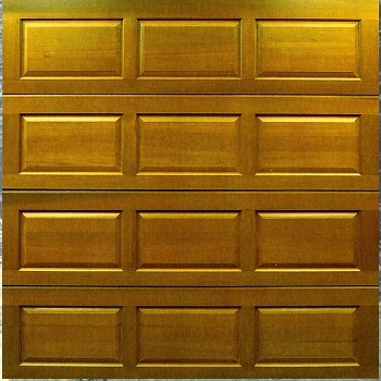 Cedar Door York cedarwood sectional garage door