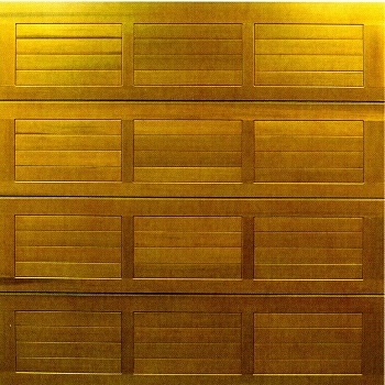 Cedar Door Hassop cedarwood sectional garage door