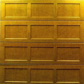 Cedar Door Eyam cedarwood sectional garage door