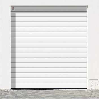 Carteck Steel Sectional 40mm Insulated Standard Rib Garage