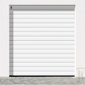 Carteck Standard Rib 40mm insulated sectional garage door