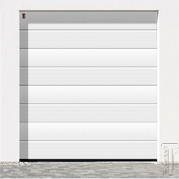 Carteck Centre Ribbed Insulated sectional garage door