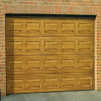 Carteck Georgian Wood Design Insulated sectional garage doors