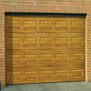 Carteck Georgian Wood Design 40mm insulated sectional garage door