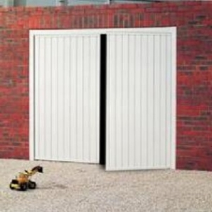 Cardale Gemini Steel Side-Hinged garage doors