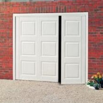 Cardale Georgian Steel Side-Hinged garage doors
