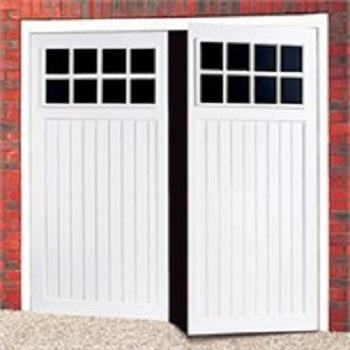Cardale Bedford Steel Side-Hinged garage doors