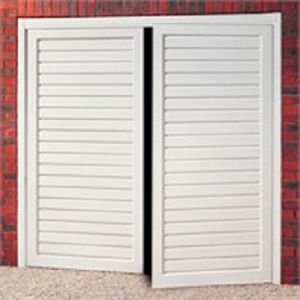 Cardale Berkeley Horizontal Steel Side-Hinged garage doors
