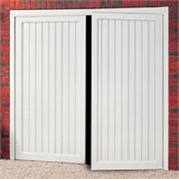Cardale Berkeley Vertical Steel Side-Hinged garage doors