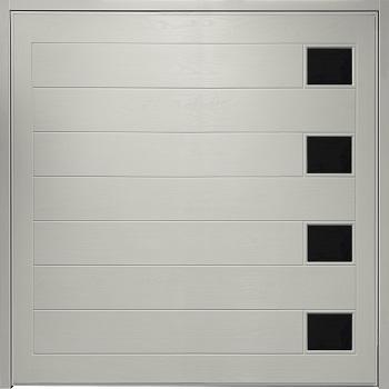Wessex Lymington with Windows GRP Garage Door