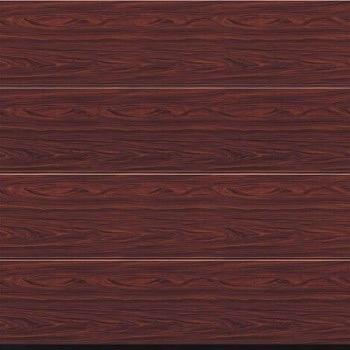 Hormann Sectional L Ribbed Decograin Lpu Insulated Garage Door