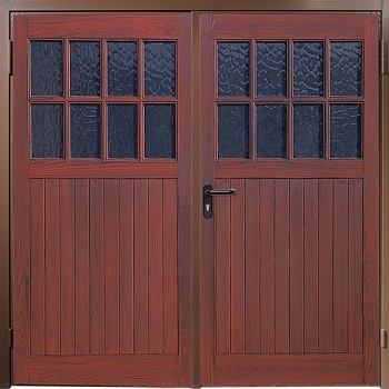 Wessex Platinum Sherwood GRP Side-HInged garage doors