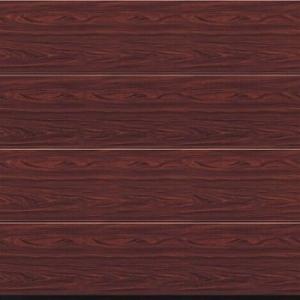 Hormann LRibbed Decograin LPU40 Insulated Sectional Garage Door