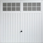 Steel Garage Doors with Up and Over Mechanism