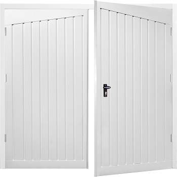 Fort Alton Steel Side-Hinged Garage Doors