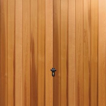Fort Stratford Cedarwood Timber Garage Door