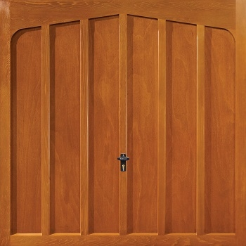 Fort Fairbourne Cedarwood Timber Garage Door