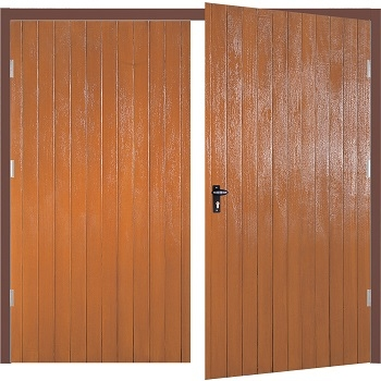 Fort Milton GRP Side-Hinged Garage Doors