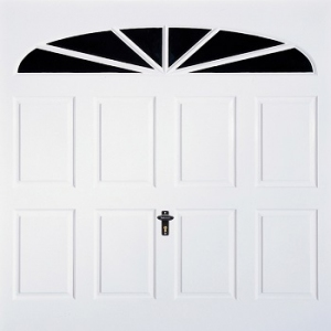 Fort Eastbourne GRP Gloss White garage door