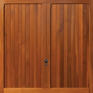 Fort Highclere Cedarwood Timber Garage Door