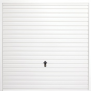 Fort Horizontal Standard Rib Steel Side-Hinged Garage Doors