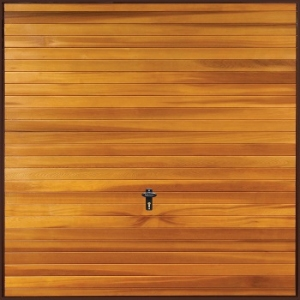 Fort Meriden Cedarwood Timber Garage Door