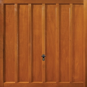 Fort Whitewell Cedarwood Timber Garage Door