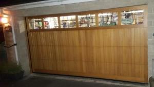 P: Cedar Door Derwent sectional in Medium Oak finish