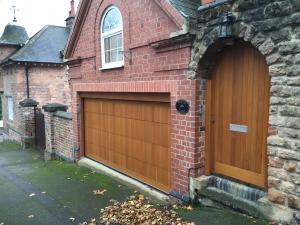 K: Cedar Door Warwick sectional and matching side door