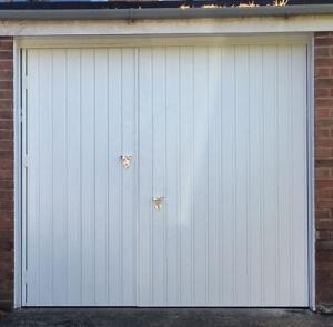 G: Fort Smartpass steel up & over with wicket door