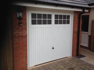 C: Garador Salisbury single up & over steel garage door